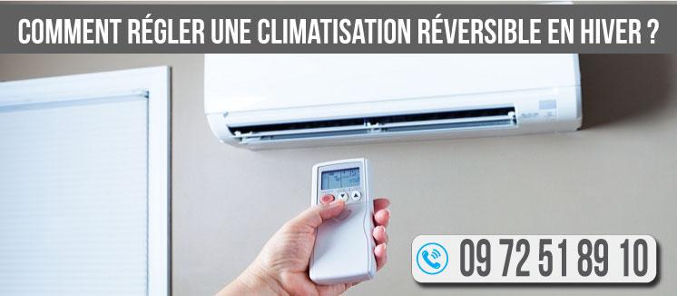 Comment-régler-une-climatisation-réversible-en-hiver